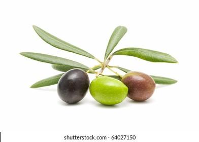 macro fresh olives