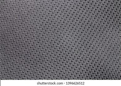 macro grey nylon fabric textured background for design, closeup texture