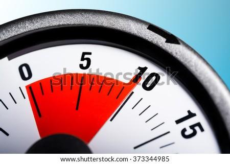 macro kitchen egg timer 10 minutes stock photo edit now 373344985