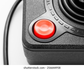 Macro of an Old Joystick - Shallow depth of field