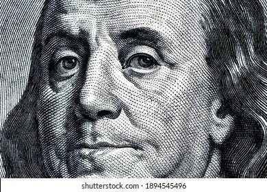 Macro One Hundred Dollar Bill