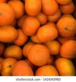Macro Photo food fruit citrus mandarin orange. Texture background tropical fruit mandarin orange. Image of fruit mandarines citrus