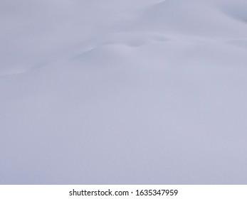 Macro photo of glittering snow