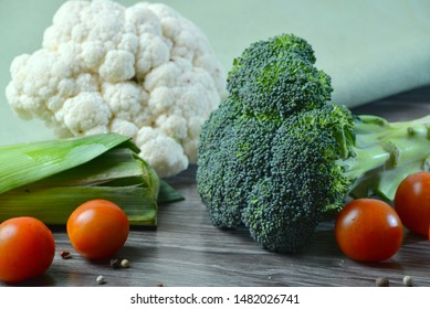 Macro photo green fresh vegetable broccoli. Image green fresh organic broccoli. Stock photo green cabbage broccoli
