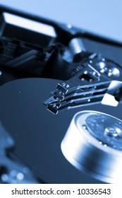 Macro photo - Hard Disk Drive. Great details !