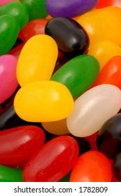 Macro photo of Jelly Beans