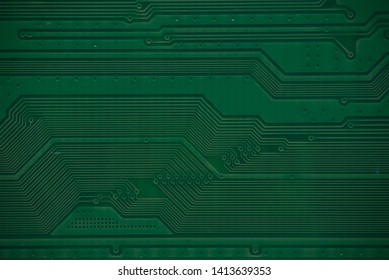 Macro photo of microcircuits close-up without inscriptions