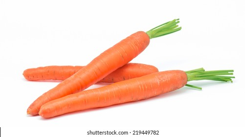 macro photography of carrots on white background