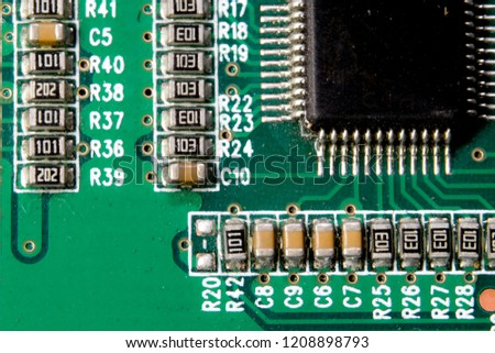 test equipment 45x48x18mm aluminum box circuit board enclosurewallpaper printed circuit board resistors electronic technologymacro photography printing circuit board chip stock photo (edit