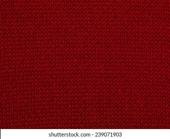 macro red sweater III