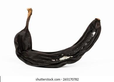 Macro of a rotten banana - Shallow depth of field