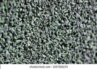 macro shot of tiny gravel