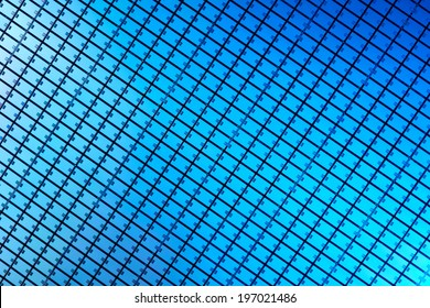 Macro of silicon wafer