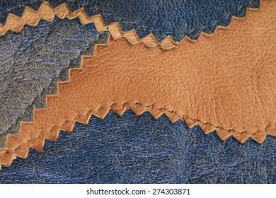 macro texture fragment colored leather studio