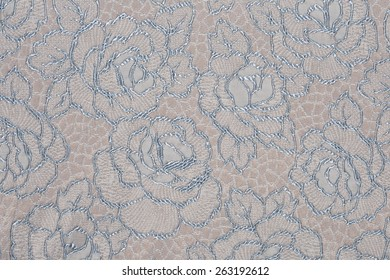 macro texture of gray fabric with a pattern studio