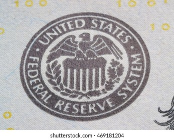 Macro of US dollar series,  super macro, eagle