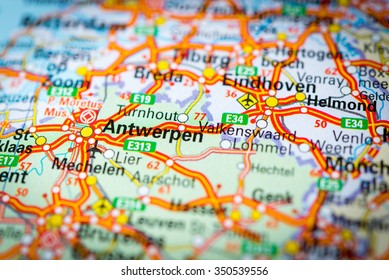 Antwerp Map Stock Photos Images Photography Shutterstock
