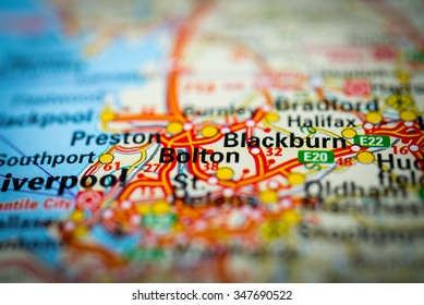 Bolton Map Images Stock Photos Vectors Shutterstock