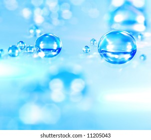 macro of water drops (shallow DOF); water series E