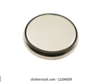 Macro of zinc-air button cell (battery)