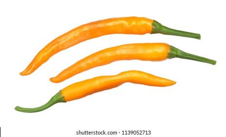 Macska narancas Hungarian paprika peppers (arbol type), whole ripe pods