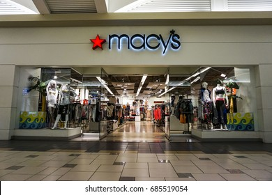 Macy's on July 23, 2017 in Orlando, Florida. Macy's is a department store company.