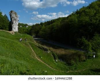 Maczuga Herkulesa, Pieskowa Skała, Sułoszowa, Ojców National Park - Shutterstock ID 1694461288