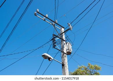 Mad Cuban electric grid, Santa Clara, Cuba, Caribbean