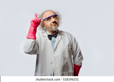 Mad scientist with a question