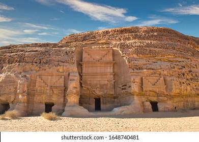 Madain Saleh the Natural and archaeological site of Saudi Arabia