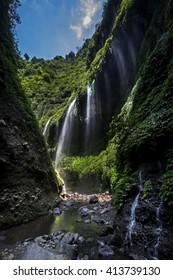 Madakaripura Waterfall Curtains