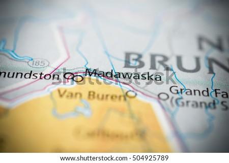 Madawaska Maine Usa Stock Photo Edit Now 504925789 Shutterstock