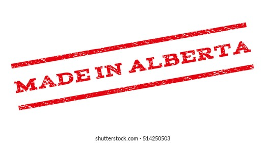 Made in alberta images stock photos vectors shutterstock made in alberta watermark stamp text tag between parallel lines with grunge design style sciox Images