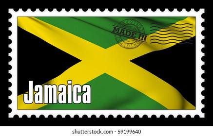 Made in Jamaica original stamp