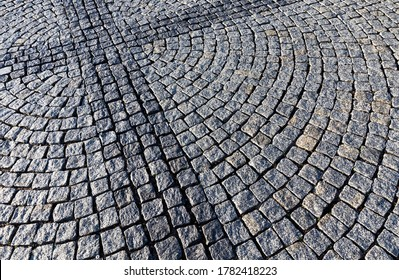 made under the guise of an old new road made of stones and cobblestones