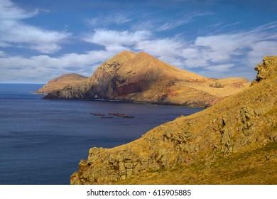 Madeira - East coast peninsula Ponta De Sao Lourenco