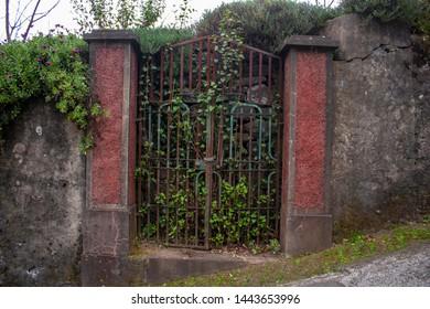 Madeira island - old gate