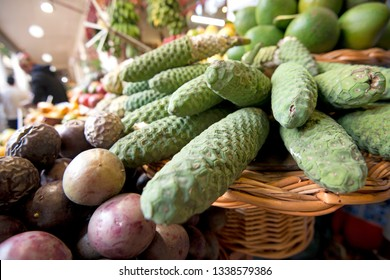 Madeira Monstera deliciousa fruit