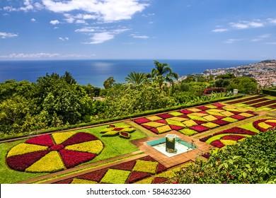 Madeira, Portugal, Botanical Garden Monte, Funchal