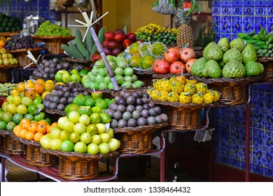 Madeira traditional&tropical fruits