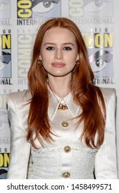 """Madelaine Petsch attends 2019 Comic-Con International CW's """"Riverdale"""" at Hilton Bayfront, San Diego, California on July 21 2019"""