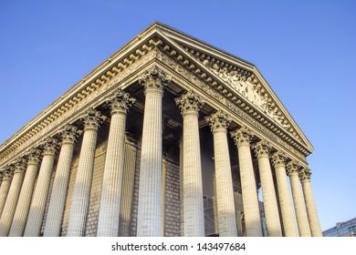 The Madeleine church, Paris, France