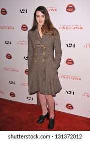 "Madeline Zima at the Los Angeles premiere of ""A Glimpse Inside the Mind of Charles Swan III"" at the Arclight Theatre, Hollywood. February 4, 2013  Los Angeles, CA Picture: Paul Smith"