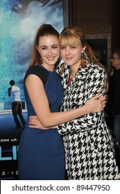 "Madeline Zima & sister Yvonne Zima at the world premiere of ""Skyline"" at the Regal Cinema at L.A. Live in downtown Los Angeles. November 9, 2010  Los Angeles, CA Picture: Paul Smith / Featureflash"