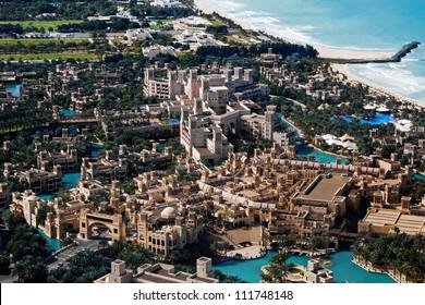 Madinat Jumeirah - big marketplace in Dubai