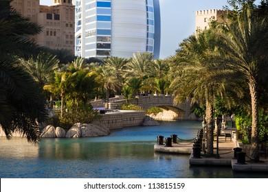 Madinat Jumeirah, Burj-al-Arab, Dubai, United Arab Emirates