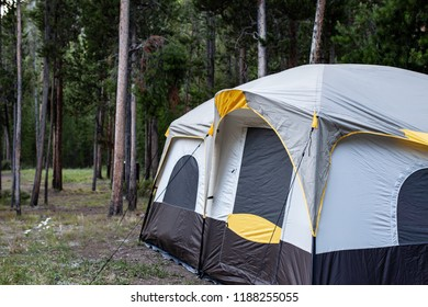 Madison Campground at Yellowstone National Park