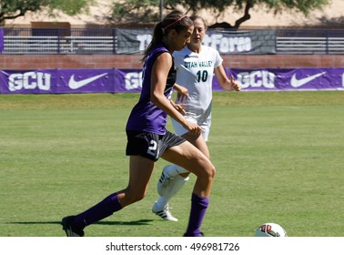 16fa2776b Madison Cox defender for the Grand Canyon Lopes at Grand Canyon University  in Phoenix AZ USA