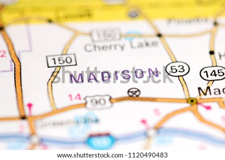 Madison Florida Map.Madison Florida Usa On Map Stock Photo Edit Now 1120490483