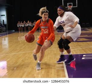 Madison Northcutt forward for the Texas-Rio Grande Valley Vaqueros women's b at GCU Arena in, Arizona/USA January 12,2019.